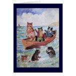 Louis Wain's Swimming Cats