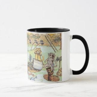 Louis Wan - Cat Gardeners Mug