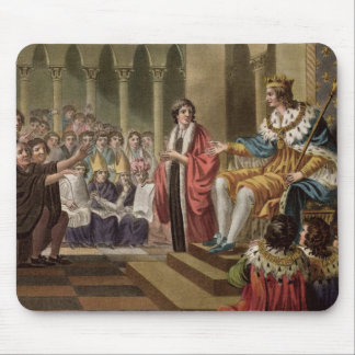 Louis XII (1462-1515) Declared Father of the Peopl Mouse Mat
