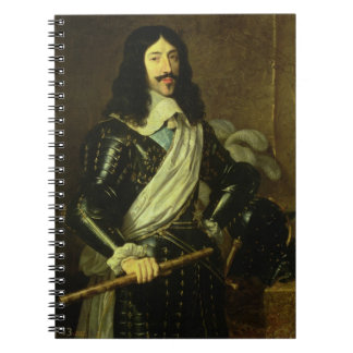 Louis XIII (1601-43) (oil on canvas) Notebook