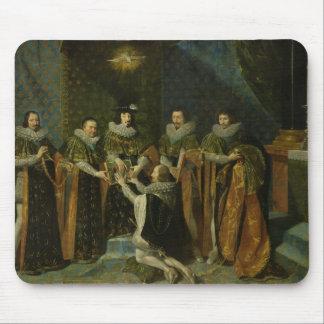 Louis XIII  Receiving Henri d'Orleans Mouse Pad