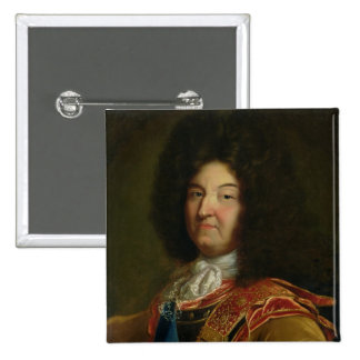 Louis XIV 15 Cm Square Badge