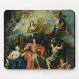 Louis XIV  Crowned by Glory, c.1686 Mouse Mat
