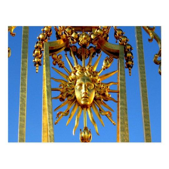 louis xiv sun king postcard