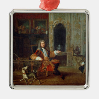Louis XV  and the Regent, Philippe II Christmas Ornament