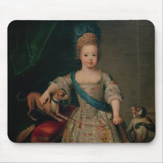 Louis XV  as a child, 1714 Mouse Pad
