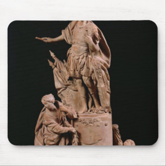Louis XV  as a Roman Emperor Mouse Mat