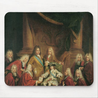 Louis XV  Granting Patents of Nobility Mouse Pad