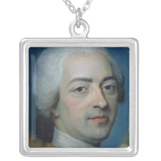 Louis XV  King of France and Navarre, after 1730 Silver Plated Necklace