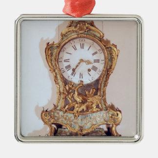 Louis XV style cartel clock Christmas Ornament