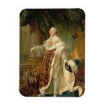 Louis XVI (1754-93) (oil on canvas) Magnet