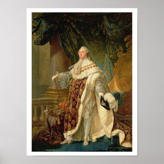 Louis XVI (1754-93) (oil on canvas) Poster