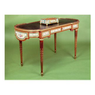 Louis XVI bureau plat with pale tulipwood veneer Postcards