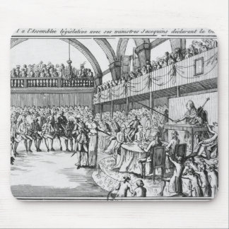 Louis XVI  declaring war on the 20th April 1792 Mouse Mat