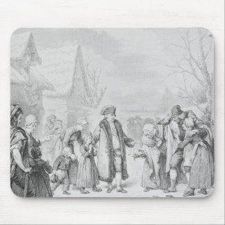 Louis XVI Distributing Alms Mouse Mat