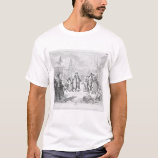 Louis XVI Distributing Alms T-Shirt