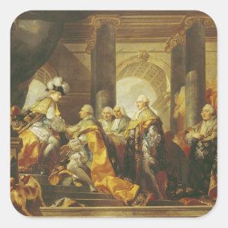 Louis XVI  King of France Square Sticker