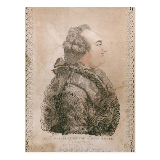 Louis XVI of France by Joseph Bernard Postcard