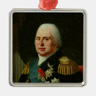 Louis XVIII  after 1815 Christmas Ornament