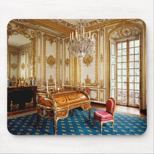 Louis XV's Private Study, 1753-60 Mousepads