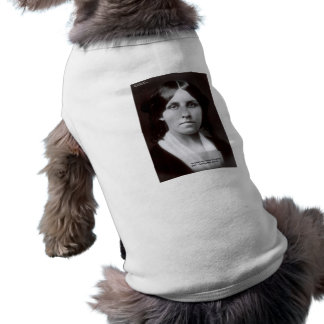 Louisa May Alcott 2 Flints Love Quote Cards & Gift Sleeveless Dog Shirt