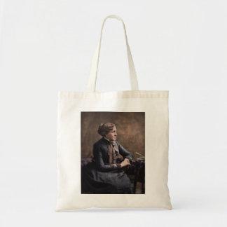 Louisa May Alcott Budget Tote Bag