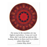 Louisa May Alcott INSPIRATIONAL QUOTE Postcards