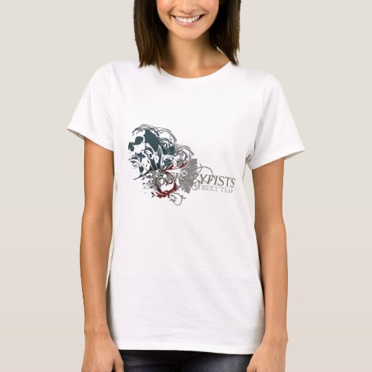Louisa's Skull Design T-Shirt