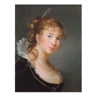 Louise Elisabeth Brun- Princess Louise of Prussia Postcard