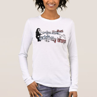 "Louise Hughes ""Rockabilly Blues"" Long Sleeve T-Shirt"