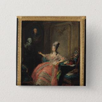 Louise Marie Josephine of Savoy 15 Cm Square Badge