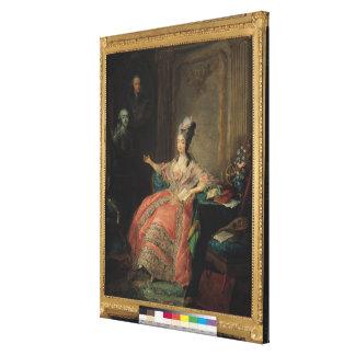 Louise Marie Josephine of Savoy Canvas Print