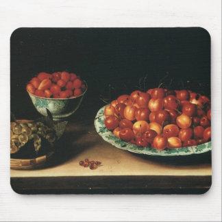 Louise Moillon Cherries Strawberries Gooseberries Mouse Mat
