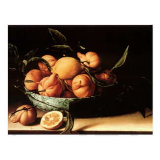 Louise Moillon's Bowl of Curacao Oranges (1634) Postcard