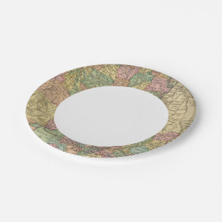 Louisiana 10 7 inch paper plate