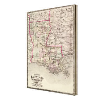 Louisiana 10 canvas print