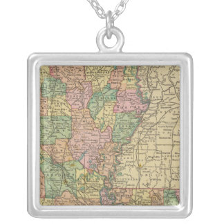 Louisiana 10 silver plated necklace