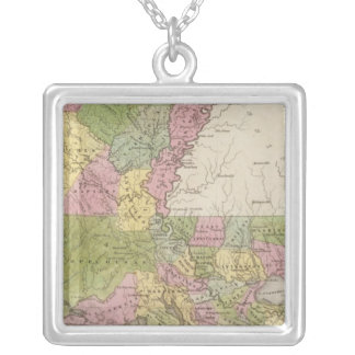 Louisiana 11 silver plated necklace