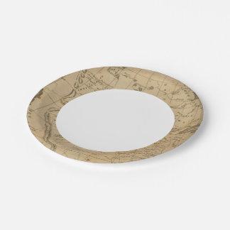 Louisiana 12 paper plate