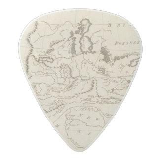 Louisiana 4 acetal guitar pick