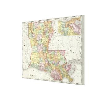 Louisiana 4 canvas print