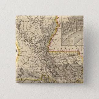 Louisiana 5 15 cm square badge