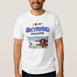 Louisiana AirSports I love my skydiving DAUGHTER Shirts