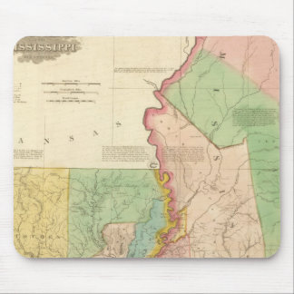 Louisiana and Mississippi 3 Mouse Mat