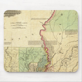 Louisiana and Mississippi Mouse Mat