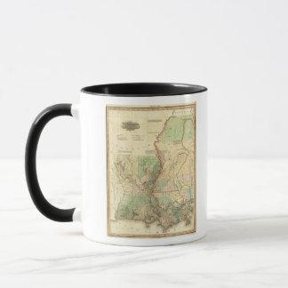 Louisiana and Mississippi Mug