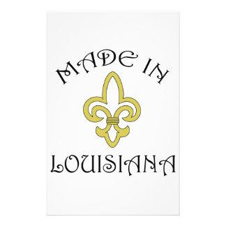 LOUISIANA APPLIQUE PERSONALISED STATIONERY