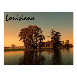 Louisiana bayou postcard