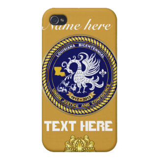 Louisiana Bicentennial 50 Colors Please View Hints iPhone 4 Case