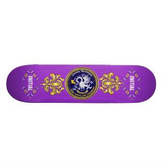 Louisiana Bicentennial Mardi Gras Logo View Hint Skate Boards